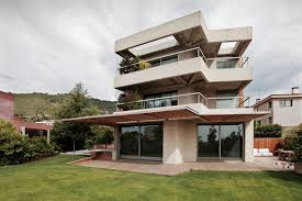 Architecture Awesome Artistic Exterior Design The House With