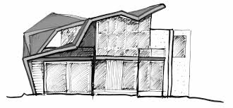 simple modern house wesharepics simple house sketch beach sorrento building plans online 43654