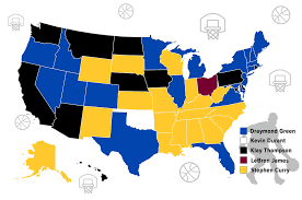 nba divisions map which nba finals player is your state cabletv com
