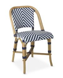parisian bistro woven side chair williams sonoma