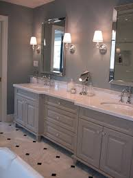 Gray Bathroom Cabinets Madison Taylor Design Bathrooms White And Grey Bath White And