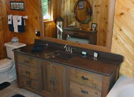 Barn Board Bathroom Vanity Reclaimed Barn Wood Bathroom Vanities Made From Old Barn Wood