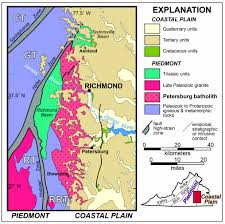 Map Of Central Virginia by Power Washing The Paleozoic Petersburg Pluton The William U0026 Mary