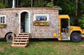 Tiny House Facts by Bus Conversion Turn A Used Bus Into A Tiny House