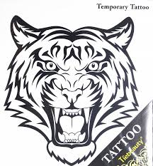 tattoos selling fashionable large tiger temporary