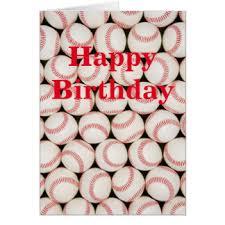 baseball birthday cards baseball birthday greeting cards