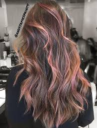 pink highlighted hair over 50 best 25 brown hair with pink highlights ideas on pinterest