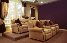 microfiber home theater seating platform for home theater seating homes design inspiration