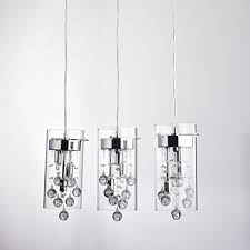 Replacement Glass Crystals For Chandeliers Claxy Ecopower Lighting Glass U0026 Crystal Pendant Lighting Modern