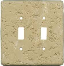 travertine light switch plates maple leaf single metal outlet cover nature switch plates outlet