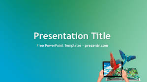 Free Augmented Reality Powerpoint Template Prezentr Tempalte Ppt