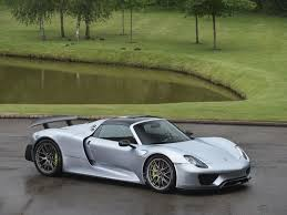 Porsche 918 Blue - stock tom hartley jnr