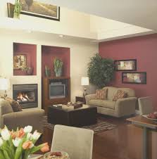 living room simple burgundy and brown living room small home