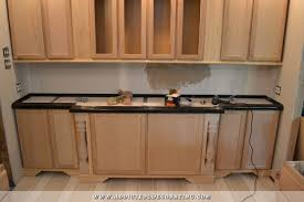 Outdoor Kitchen With Concrete Countertops 8 Steps With Picture by Diy Pour In Place Concrete Countertops U2013 Part 1