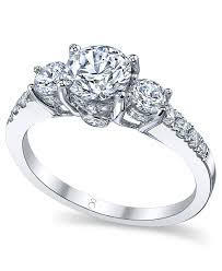 macy s wedding rings sets my story ring 18k white gold certified 3