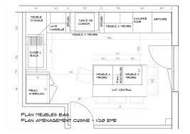 plan cuisine ilot central cuisine autocad trendy plan de cuisine en i with cuisine autocad