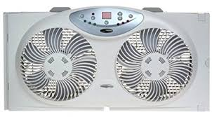 most powerful window fan amazon com bionaire bw2300 n twin reversible airflow window fan