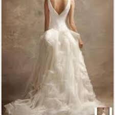vera wang white by wedding dress on sale 65 off wedding