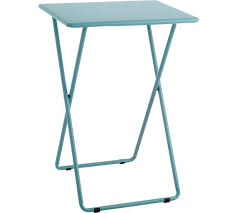 Folding Coffee Table Uk Buy Habitat Airo Metal Folding Table Sea Blue At Argos Co Uk