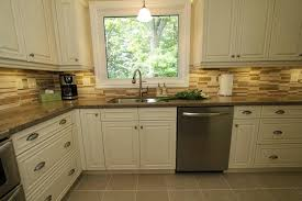 kitchen backsplash ideas with cream cabinets kitchen with cream cabinets photogiraffe me