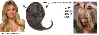 clip on bangs exclusive offer on clip on european human hair bangs how to