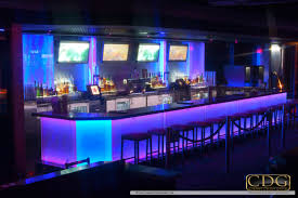 gentlemens club stage bar and interior design by cabaret