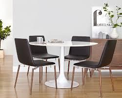 scandinavian design dining table corona dining table and neura dining chair from scandinavian designs