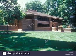 american prairie style house in oak park chicago designed by