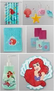 little mermaid bathroom decor interior design modern