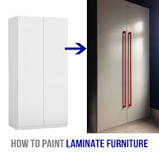 best paint for melamine kitchen cabinets uk how to paint laminate furniture without sanding