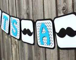 mustache baby shower theme mustache banner gentleman banner boy baby shower