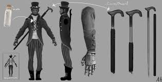 my black victorian time traveller by azza1070 on deviantart