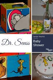 dr seuss baby shower theme