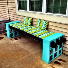how to make a cinder block bench cinder block bench backyard