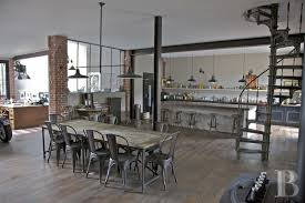 Industrial Style Home Cool House That Combines Industrial And Traditional Style