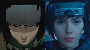 ghost in the shell anime vs movie side by side comparison ign