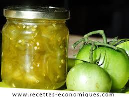 cuisiner tomates vertes confiture de tomates vertes au thermomix recettes de cuisine