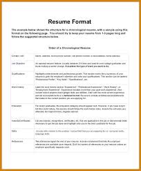 most current resume format most recent resume format current resume format examples most