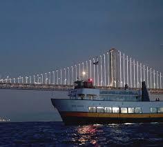 Bay Bridge Light Show Bay Lights Cruise Blue U0026 Gold Fleet