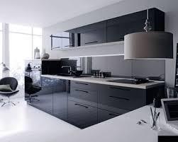 decoration cuisine noir et blanc deco cuisine gris et blanc beige collection best ideas noir