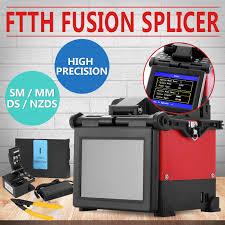 ftth fiber optic splicing machine fusion kit adaptor cleaver
