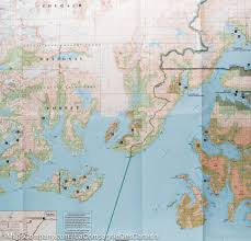 Alaska Topo Maps by Trail Map Of Prince William Sound East Chugach National Forest