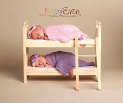 small whimsical boy or photography prop newborn twins posing