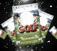 free golf tournament flyer template ciusan