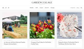 garden collage magazine where modern meets wild