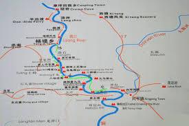 Guilin China Map by Guilin Li River Maps Map Of Li River Cruise