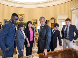 Obama Oval Office Decor Meet The 6 Dreamers The President Met With In The Oval Office