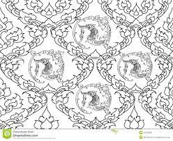 swan thai design stock illustration image of white generally