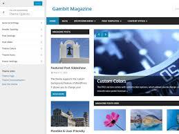 colors home page gambit documentation u2013 themezee