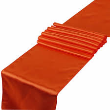 cheap coral table runners sale coral orange satin table runners 12 x 108 wedding party